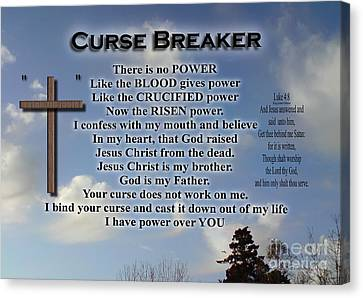 Curse Breaker Canvas Print