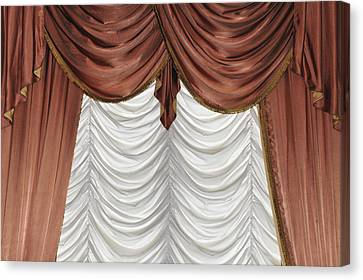 Curtain Canvas Print by Matthias Hauser
