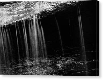 Canvas Print featuring the photograph Curtain Of Water by Haren Images- Kriss Haren