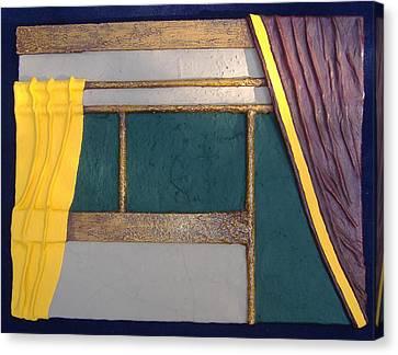 Curtain Canvas Print by Steve  Hester