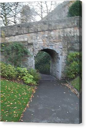 Curtain Wall Gateway Canvas Print