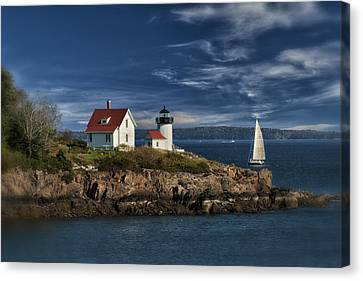 Curtis Island Lighthouse Maine Img 5988 Canvas Print