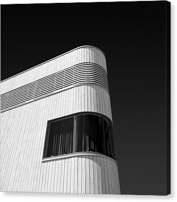 Curved Window Canvas Print by Dave Bowman