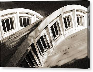 Curves Canvas Print by Arkady Kunysz