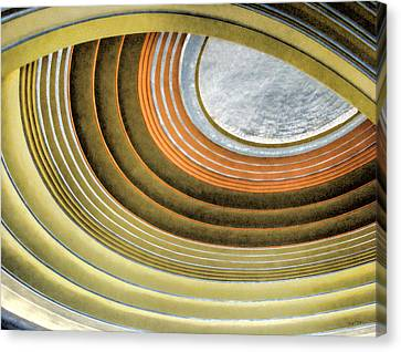 Curving Ceiling Canvas Print
