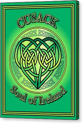 Cusack Soul Of Ireland Canvas Print