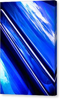Custom Blue Paint Canvas Print by Phil 'motography' Clark