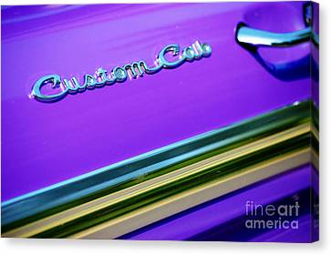 Canvas Print featuring the photograph Custom Cab by Christiane Hellner-OBrien