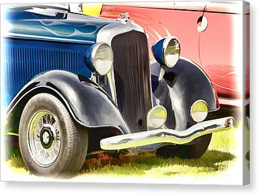 Custom Hot Rod Canvas Print