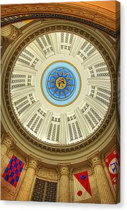Custom House Dome Canvas Print by Joann Vitali