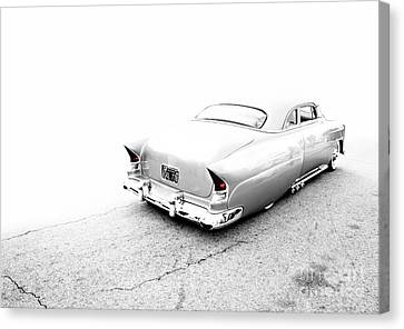 Custom Metal - 1953 Chevy - Chopit Kustoms - Metal And Speed Canvas Print by Holly Martin