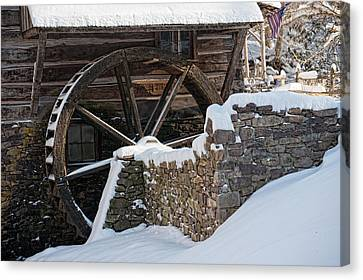 Cutalossa Water Wheel Canvas Print