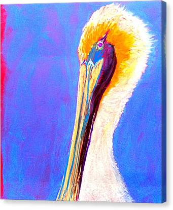 Cute Pelican Canvas Print