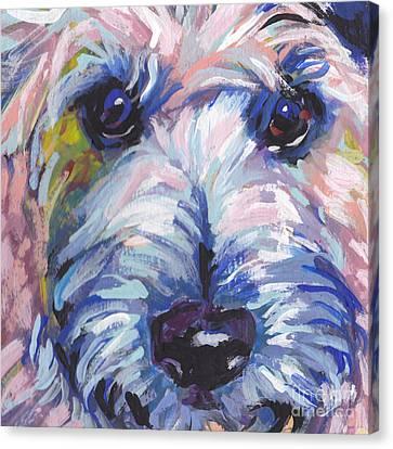 Cutey Face Canvas Print by Lea S