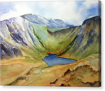 Cwm Idwal Snowdonia Canvas Print by Cynthia Roudebush