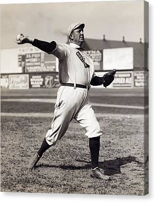Cy Young - American League Pitching Superstar - 1908 Canvas Print