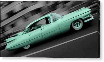 Cyan Caddy Canvas Print by Phil 'motography' Clark