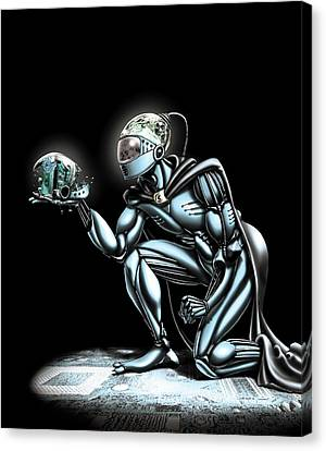 Cyborg Canvas Print by Harald Ritsch