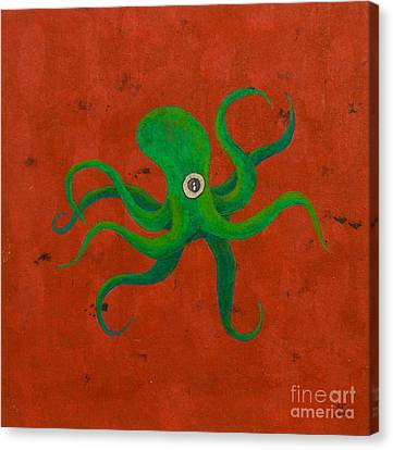 Cycloptopus Red Canvas Print