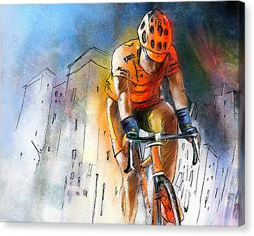 Cycloscape 01 Canvas Print by Miki De Goodaboom