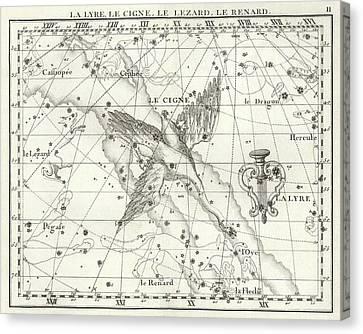 Cygnus Constellation Canvas Print by Us Navy