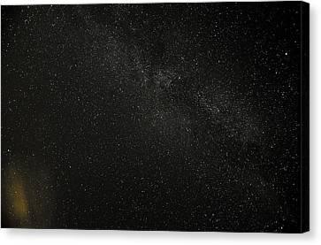 Canvas Print featuring the photograph Cygnus  Deneb  Vega by Greg Reed