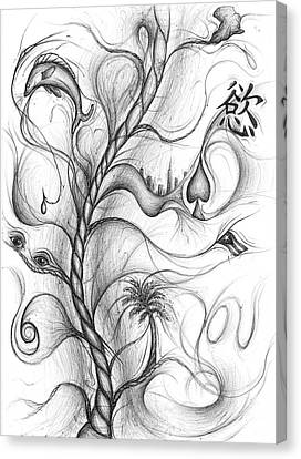 Cynthia Centipeda Canvas Print by Michael Morgan