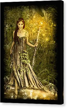 Cypress Queen Canvas Print