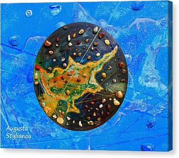 Microcosm Canvas Print - Cyprus by Augusta Stylianou