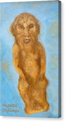 Larnaca Canvas Print - Cyprus Lion-like God by Augusta Stylianou