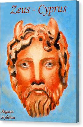 Larnaca Canvas Print - Cyprus - Zeus by Augusta Stylianou