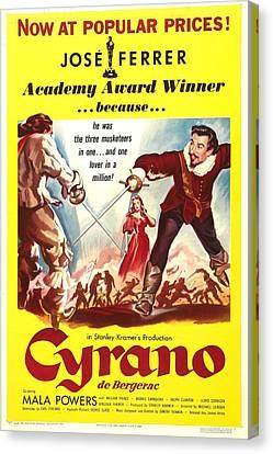 Cyrano De Bergerac, Us Poster, Jose Canvas Print by Everett