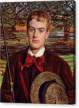 Cyril Benoni Holman Hunt, 1880 Canvas Print by William Holman Hunt