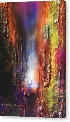 Cythere Canvas Print by Francoise Dugourd-Caput