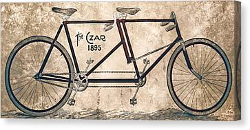 Czar Biycle Canvas Print