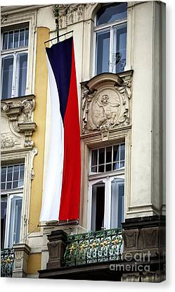 Czech Pride Canvas Print by John Rizzuto