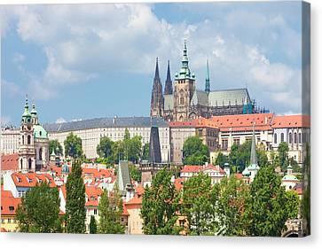 Czech Republic, Prague - St. Nicolas Canvas Print by Panoramic Images