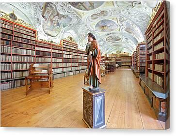 Czech Republic Prague, Strahov Canvas Print by Panoramic Images