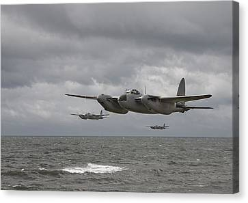 D H Mosquito Canvas Print by Pat Speirs