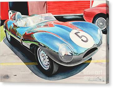 D Type Canvas Print