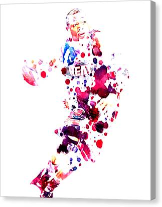 D Wade Canvas Print by Brian Reaves