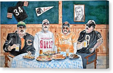 Da Bears Canvas Print