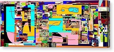Daas 4 Canvas Print by David Baruch Wolk