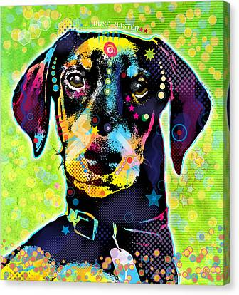 Dachshund Canvas Print by Gary Grayson