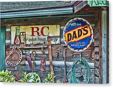 Dad's Canvas Print by Kenny Francis
