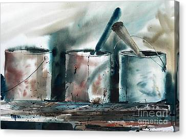 Dad's Tools Canvas Print by Micheal Jones