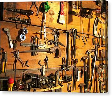 Dads Tools Canvas Print by Will Boutin Photos