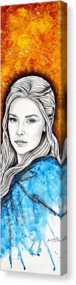 Daenerys Targaryen Canvas Print by Anastasis  Anastasi