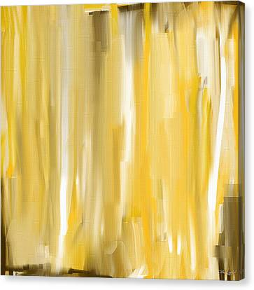 Daffodil Cream Canvas Print