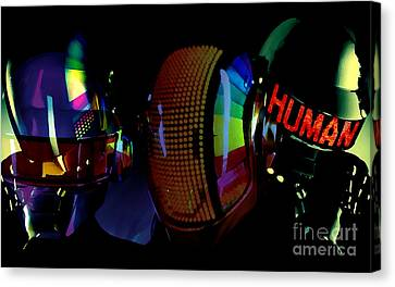 Daft Punk Painting Canvas Print by Marvin Blaine